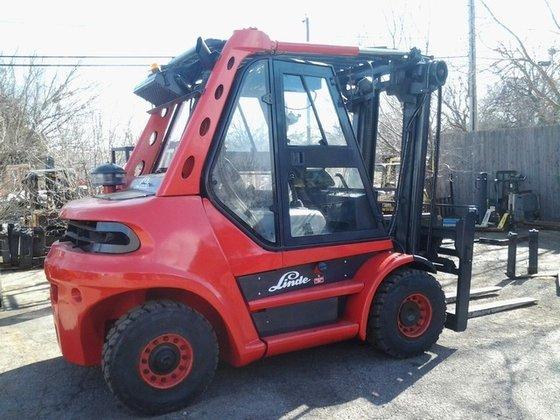 2004 Linde H80D Diesel Pneumatic