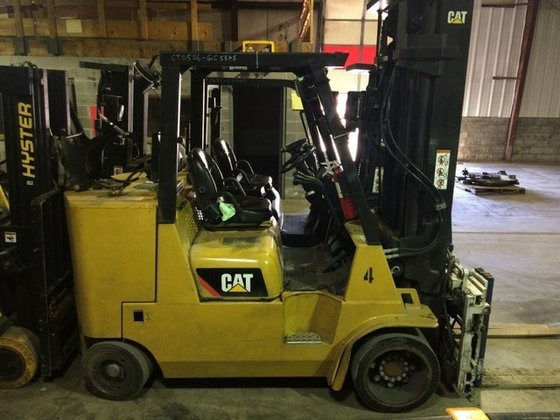 2011 Cat GC55KS LP Gas