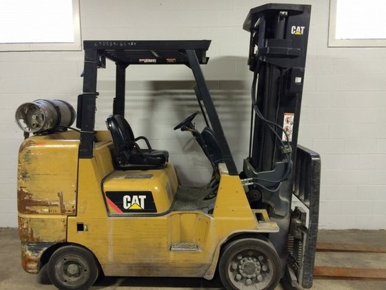 2009 Cat GC45K-LP-SWB LP Gas