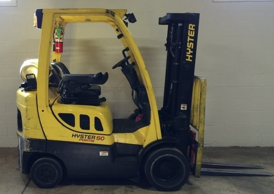 2011 Hyster S50FT LP Gas