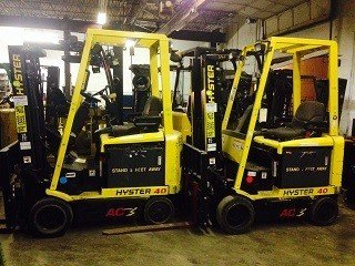 2008 Hyster E40ZS Electric Electric