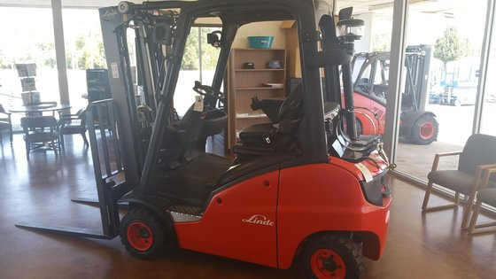 2015 Linde H20T LP Gas