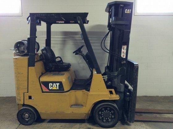 2009 Cat GC40KSTR LP Gas