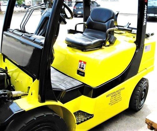 2008 Yale GLP050VXE LP Gas