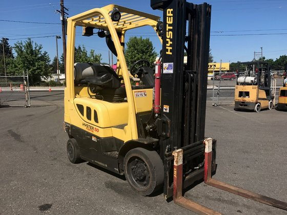 2012 Hyster S50FT LP Gas
