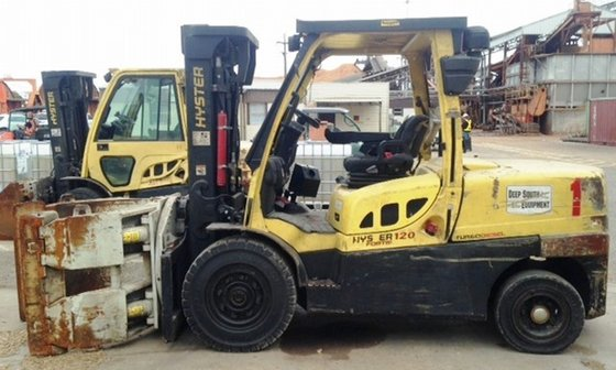 2010 Hyster H120FT/90F Diesel Pneumatic