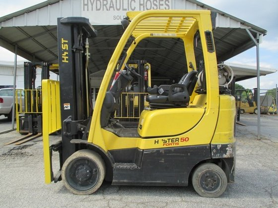 2005 Hyster S50FT LP Gas
