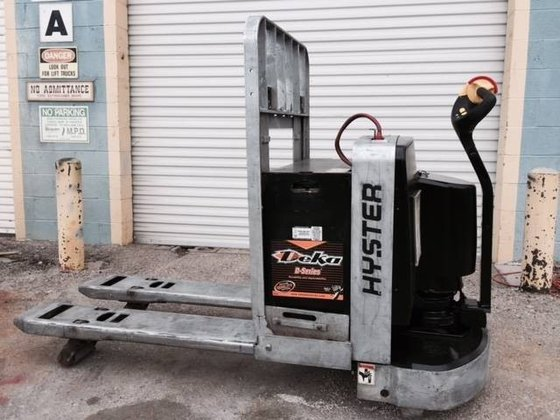 2011 Hyster W80Z Electric Electric