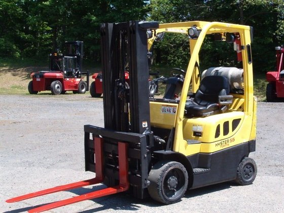2008 Hyster S55FTS LP Gas