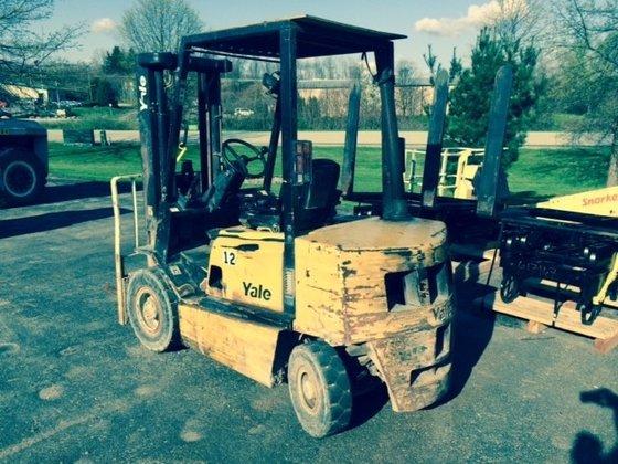 2004 Yale GDP050 Diesel Pneumatic