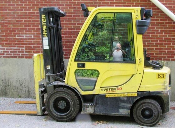 2012 Hyster H60FT LP Gas