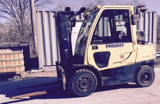 2010 Hyster H80FT LP Gas
