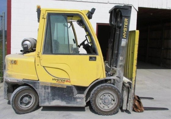 2012 Hyster H80FT LP Gas