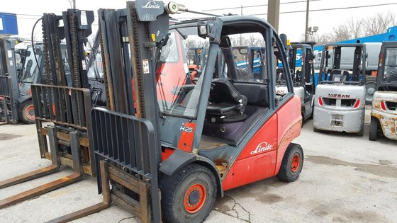 2005 Linde H25T LP Gas