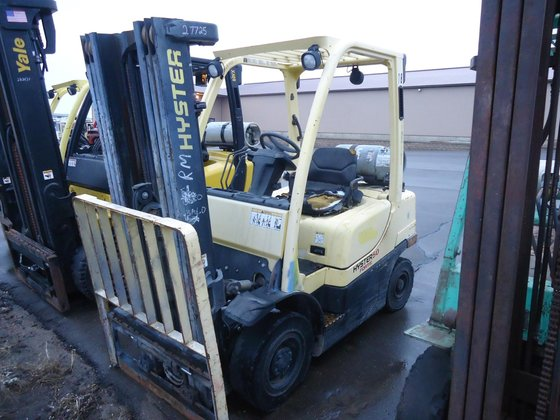 2007 Hyster H50FT LP Gas