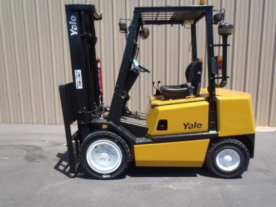 2000 Yale GDP060 Diesel Pneumatic