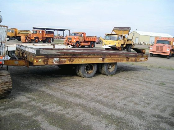 1970 WISCONSIN Flatbed Trailers in