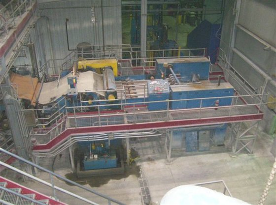 Deinking and Bleaching Pulp Mill