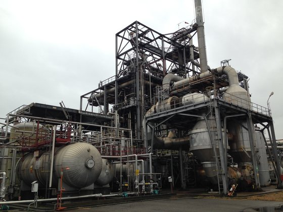 Maleic Anhydride (MA) Plant -