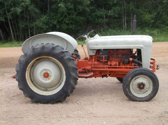 1953 ford jubilee tractor serial numbers
