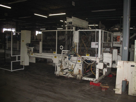 BROWN C4201 THERMOFORMING LINE, 480