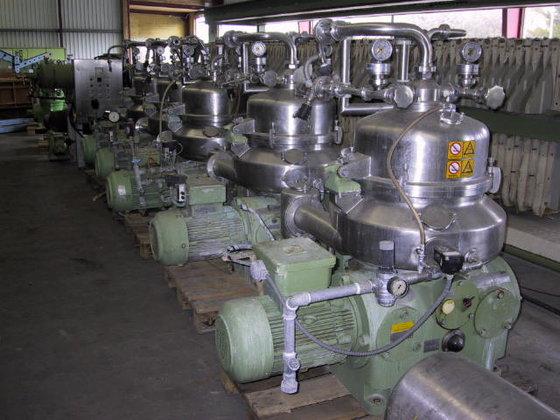 WESTFALIA VA 35-09-566 Centrifuge STAINLESS