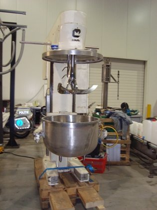 COLLETTE GRAL-150 STAINLESS STEEL MIXER