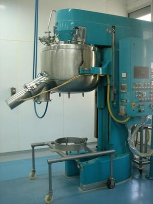 COLLETTE GRAL-300 STAINLESSS STEEL MIXER