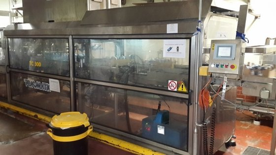 PRASMATIC TC300 TRAY PACKAGING MACHINE