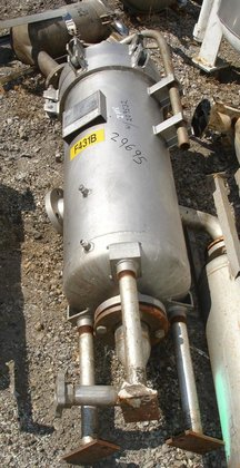 CULTER STAINLESS STEEL BASKET FILTERS.