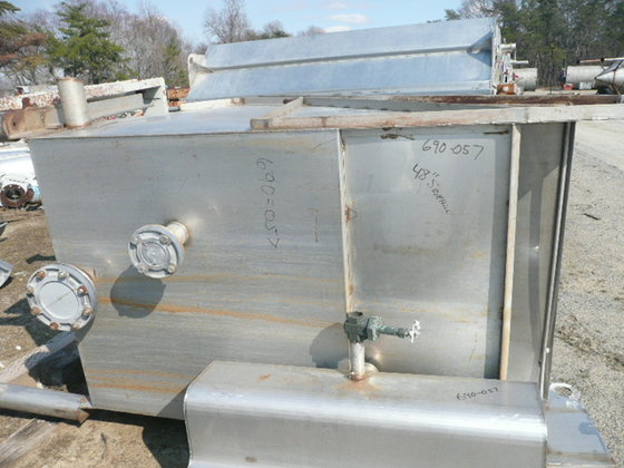 48″ STAINLESS STEEL HYDRASIEVE WITH