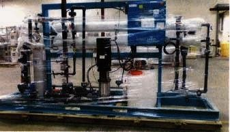 NANOFILTRATION SKID WITH FLOW RATE