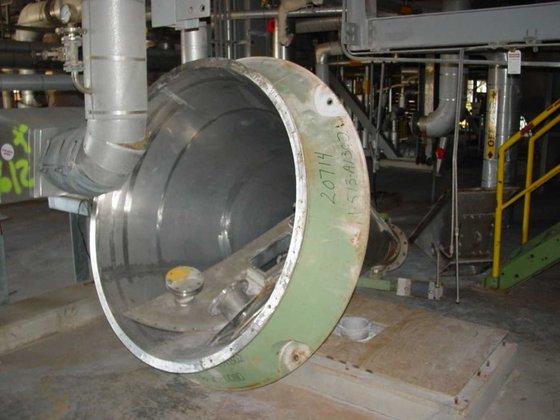 10VV-2 Stainless Steel Nauta Mixer
