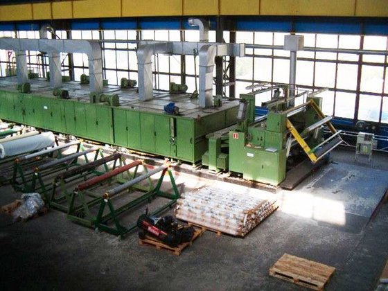 coating line by FAMATEX (Germany)