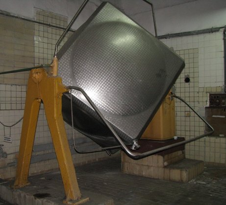 stainless steel tumbling mixer, cube