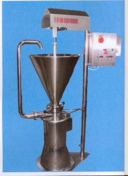 stainless steel colloid mill polish