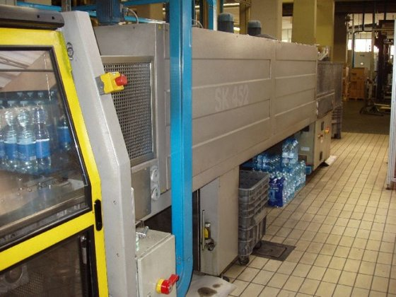SK 452 shrink wrapping tunel