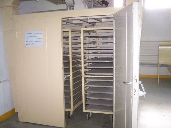 carbon steel cabinet tray dryer.