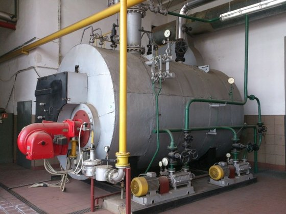 polish made steam boiler by
