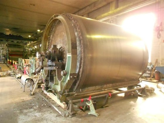 VOITH 6 BAR drying cylinder
