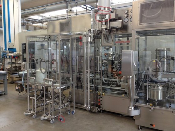 MF400 ASEPTIC POWDER FILLING LINE