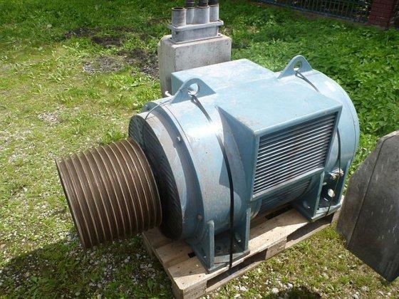 electric motor by WEG (Brazil)