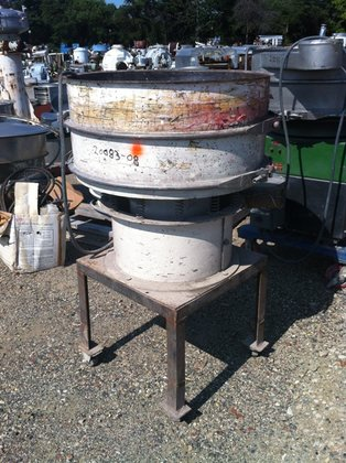 SWECO SIFTER 30″ DIAMETER, CARBON