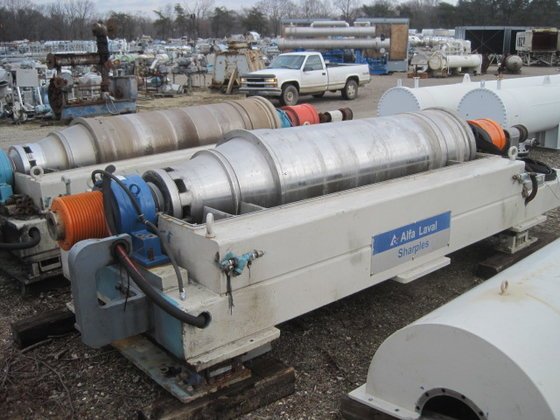 ALFA LAVAL/SHARPLES XM706 STAINLESS STEEL