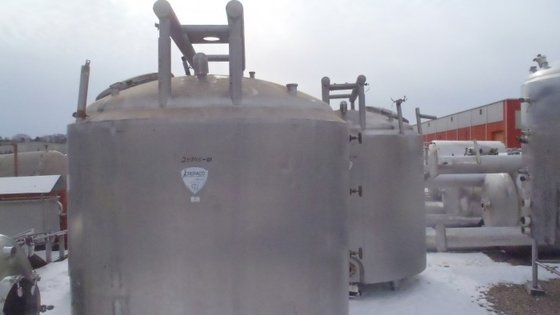 CREPACO PROCESS 1,000 GALLON STAINLESS