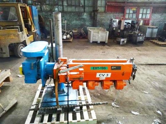 2″ DELTAPLAST COLD FEED EXTRUDER,