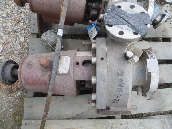 1976 GOULDS 3736 2″X3″X9″ PUMP.