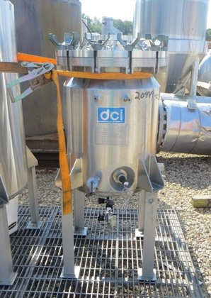 DCI APPROXIMATELY 13 GALLON STAINLESS