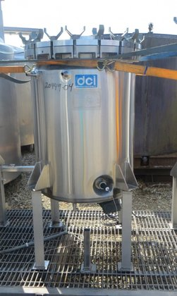 66 GALLON DCI STAINLESS STEEL