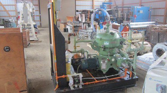 WESTFALIA SEPARATOR AG CENTRIFUGE 3000L/HR,